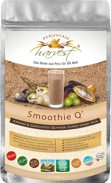 PH Smoothie Q - Super Food Mix x 200g, 95% BIO