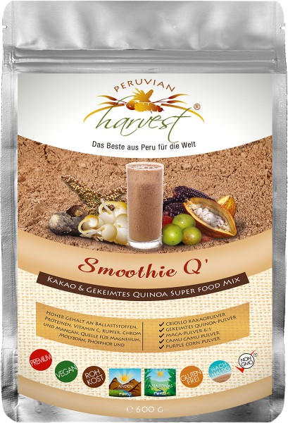 PH Smoothie Q - Super Food Mix x 600g, 95% BIO
