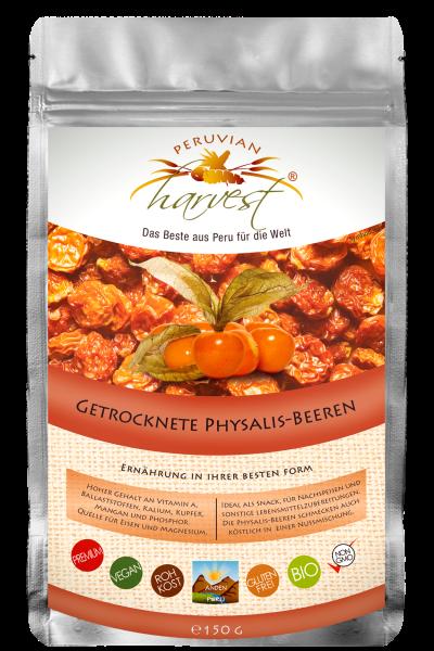 UHTCO Peruvian Harvest Physalis Beeren 150g Das Beste aus Peru für die Welt